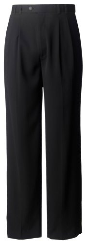Cutter & Buck Men's Gabardine Microfiber Cuffed Trouser, ...