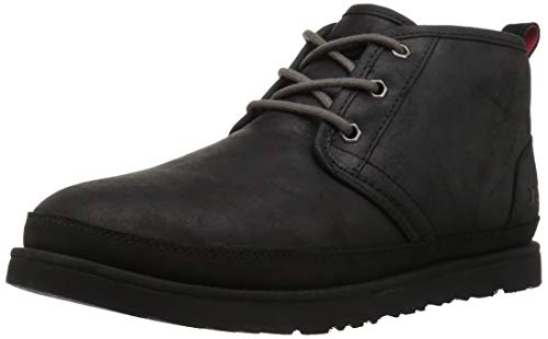 UGG Men's Neumel Waterproof Chukka Boot, Black, 10 Medium US ()