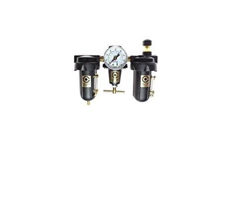 Coilhose Pneumatics 8882AAGHM Heavy Duty Series Filter, Regulator, Lubricator, 1/4