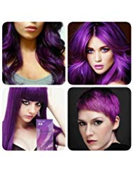 (New!!!BERINA PROFESSIONAL PERMANENT HAIR DYE COLOR CREAM PURPLE VIOLET # A6)