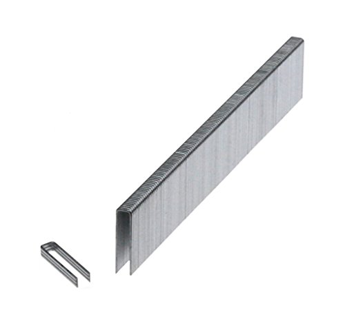 20GA 3/16'' Crown x 1/2'' Length Galv. 10,000-Pack 97 Series Style Staples by Prebena
