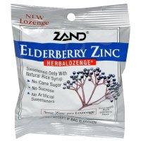 Pastilles à base de plantes - Zinc sureau, 12 unités / 15 pastilles