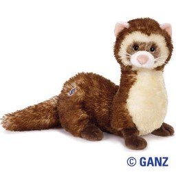 Webkinz Plush Stuffed Animal Ferret (Ferret Treasure Toy)