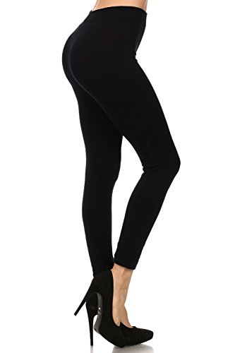 Neon Nation Colored Seamless Leggings Athletic Pants Costume Party Tights (Costumes With Black Leggings)