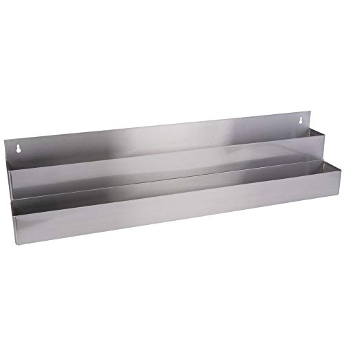 TableTop King Stainless Steel Double Tier Speed Rail - 42'' by TableTop King (Image #2)