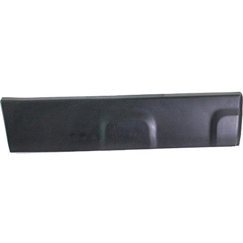 Evan-Fischer EVA284720313 Door Molding and Beltlines for Honda CR-V 2007-2011 Rear Right Assembly Garnish Textured Black W/Clip Right Side
