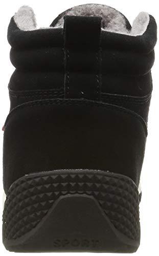 Aire Botas Libre Botines Hombre Negro Cortas De Invierno Nieve Zapatos Saguaro® Boots Fur S1Uxqw