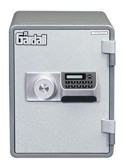 Gardall MS129-G-E One Hour Vertical Microwave Style Fire Safe w/ Electronic Lock Grey