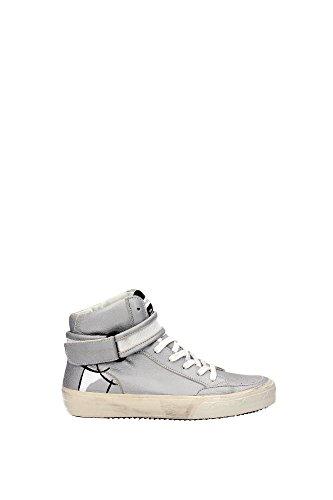 STHDMC01 Philippe Model Sneakers Mujer Piel Plata Plata