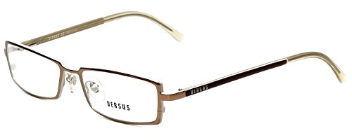 Versus Designer Reading Glasses 7047-1013 in Light Brown 52mm ()