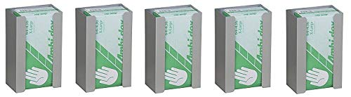 Single Aluminum Glove Box Holder/Dispenser (5-(Pack))