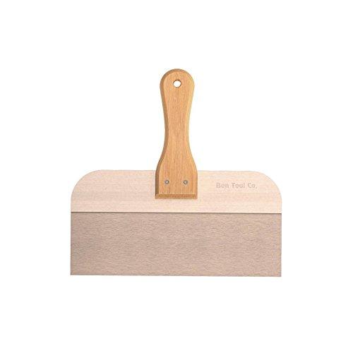 Edelstahl 30,5/x/7,6/cm Bon 15-297 Spachtel mit Holzgriff