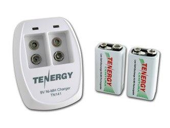 Amazon.com: Tenergy TN141 - Cargador inteligente de 2 bahías ...