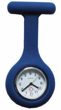 29 opinioni per Boolavard® TM Orologio da infermiere in silicone con spilla- orologio tascabile