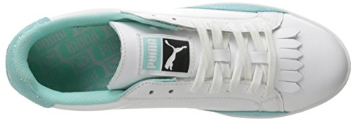 Sneaker White Fashion Wn's 9 M 5 aruba Blue Puma Femminile Lo Us Partita Reset TI0XXw