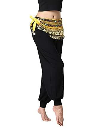 Shaoyao Flecos de Danza del Vientre Mujer Bufanda de la Cadera ...