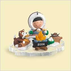 2006 Hallmark Keepsake Christmas Ornament FROSTY FRIENDS QX2513 ()