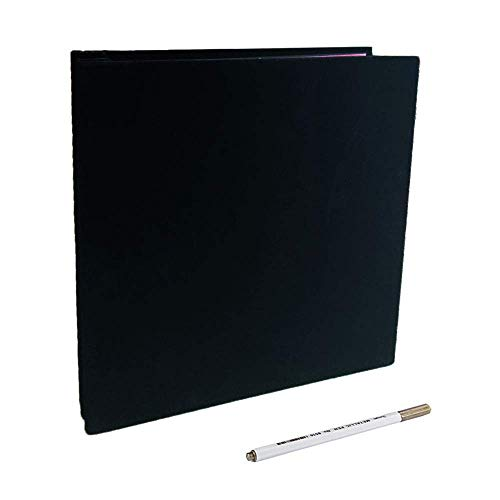 Self Adhesive Photo Album,Black Scrapbook Album Pages Free to Write Top Grade Scrapbook Kit Valentine's Christmas Day Birthday Gifts for Mum Farther Girl Boy DIY Gift