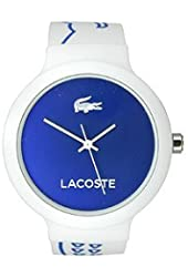 Lacoste Goa Three-Hand White Silicone Unisex watch #2020094