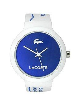 Lacoste Goa Three-Hand White Silicone Unisex watch #2020094