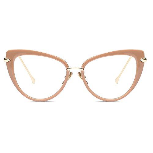 sol Eye Cat Gafas Vintage C3 Style Gafas Gafas de Gafas Sun Juqilu x1XxqYvw