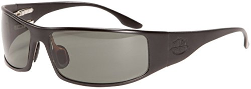 Fugitive Aluminum Sunglass Black Polarized ()