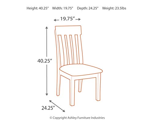home, kitchen, furniture, kitchen, dining room furniture,  chairs 11 on sale Signature Design by Ashley - Haddigan Dining Room Chair in USA