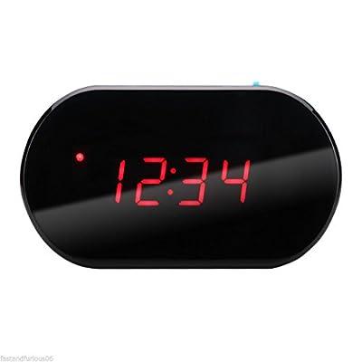 HOT LED Digital Alarm Clock Radio FM Radio Station Sleep Snooze Function Watch