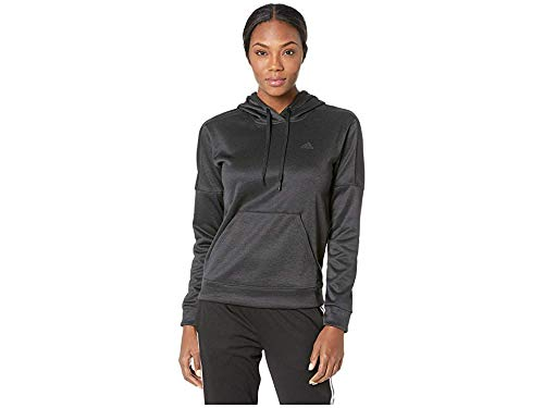 adidas Women's Team Issue Pullover Hoodie Black/Black/Carbon - Adidas Pullover Athletic