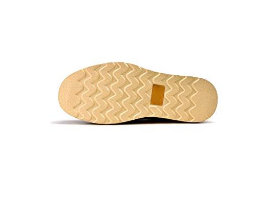 Inghilterra Shoes Uomo Casual Brown Pizzo Tooling da Martin Pelle Business in Scarpe Primavera di Bassa F5fwO8nqx