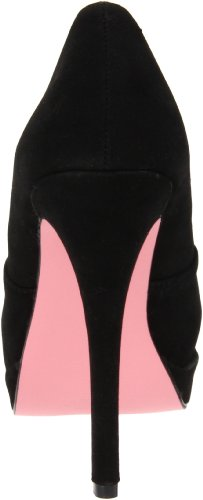 Pinup Couture - zapatos de tacón mujer negro - Blk Sueded Pu
