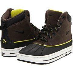 Nike Woodside (PS) Little Kids Boots 415079-003 Ironstone Black-Light Bone-High Voltage 1 M US -