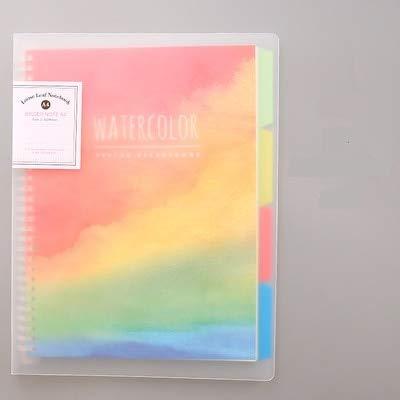 A 4 B 5 A 5 cuaderno espiral cuaderno bosque bloc de notas ...