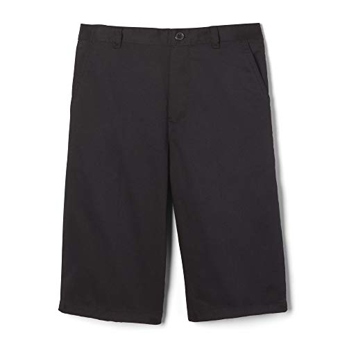 French Toast Big Boys' Pull-On Short, Black, 8 ()