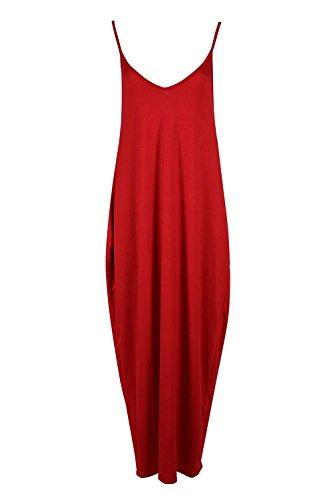 Fashion Star Rouge Rouge Fashion Star Robe Femme Robe Femme qEI5Cwp8n
