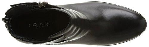 Di Boots 264 Colore Jonak Donne Noir Biker cuir Delle Cu H4 Daks 1ZXxqXwa8