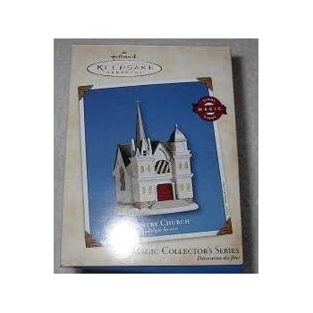 2002 Hallmark Country Church Candlelight Services #5 in series Ornament