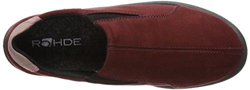 Sympatex Donna 42 Rohde Rheingau Rosso red Pantofole TqfOAt5