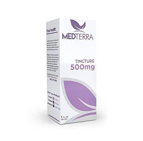MedOil Hemp Extract - 500mg Active Hemp (1 oz.) by Medterra (Image #1)