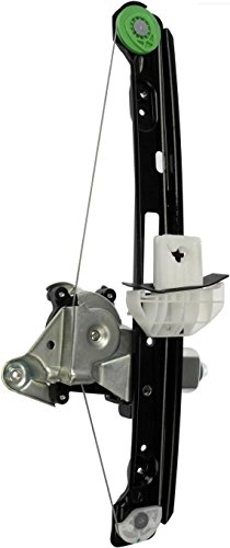 APDTY 852695 Power Window Motor & Regulator Assembly Fits Rear Left Driver-Side 2000-2007 Ford Focus 4-Door Sedan or 5-Door Hatchback (Replaces Ford 6S4Z5427001A, WLRA15) ()