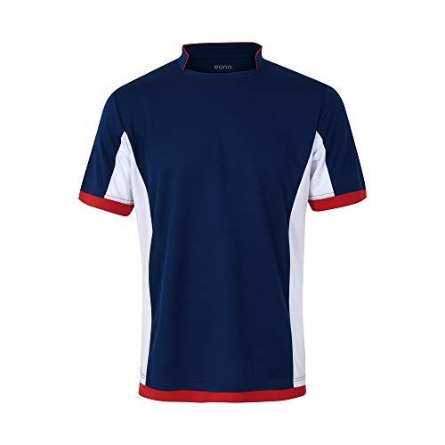 Eono Essentials – Camiseta de fútbol transpirable para hombre