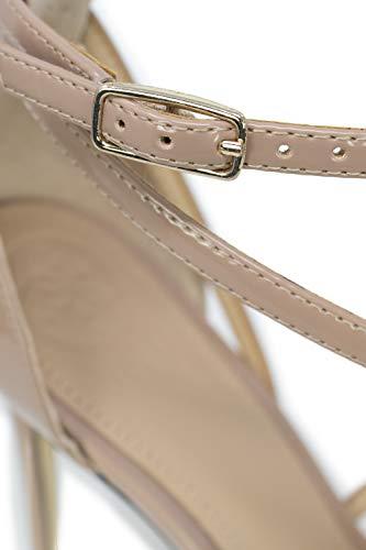 Fl5brtpaf08 Tacón De Guess Rosa Zapatos Mujer aUqcWvnz6v