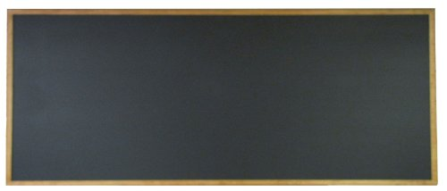 NEOPlex 24'' x 60'' Extra-Large Framed Black Chalkboard by NEOPlex