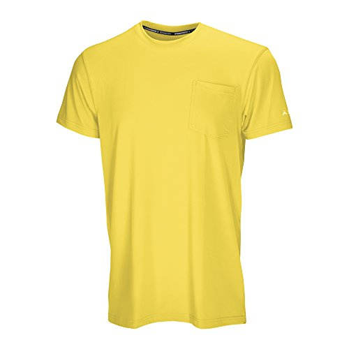 (アークティッククール) Arctic Cool メンズ ポケットワークウェア 即冷却シャツ UPF 50+紫外線保護 B01N6UWVBT S Buff Yellow Buff Yellow S