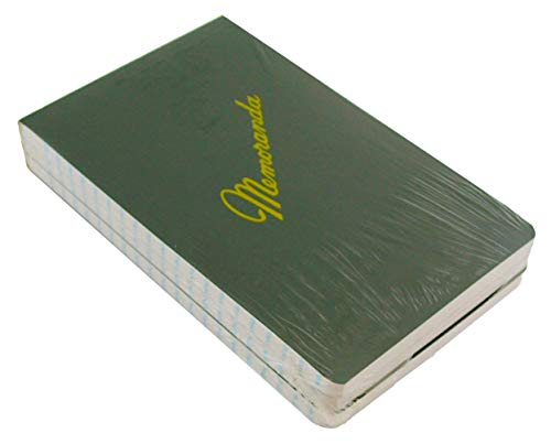 Green Military Memorandum Book / Military Memo Book, 3-3/8