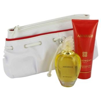 AMARIGE by Givenchy - Gift Set -- 1.7 oz Eau De Toilette Spray + 3.3 oz Body Lotion + Bag