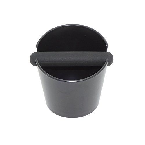 ABS Espresso Knock Box Hard Plastic Coffee Knock Box with Silicone Ring Bottom (Type B) by BAIYUN