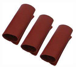 Amazon.com: Set of 3 Red Genuine Leather Suitcase Handle Gloves ...