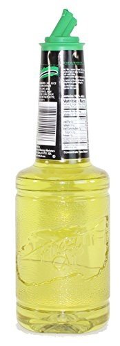 Finest Call Premium Lime Juice Drink Mix, 1 Liter Bottle (33.8 Fl Oz), Pack of 3