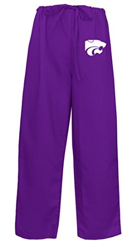 K-State Scrubs Bottoms Pants -Size LG- K - Kansas Collegiate Scrub Shopping Results
